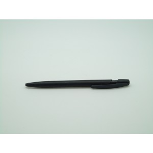 Cheap promo black plastic pen
