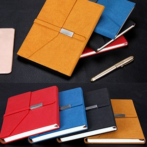 PU Leather Gift Set Notebook USB Drive Pen Gift Set