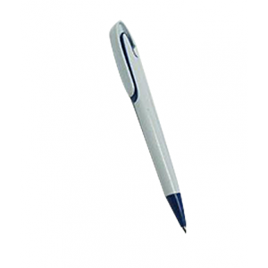 Plastic Pen White body /blue