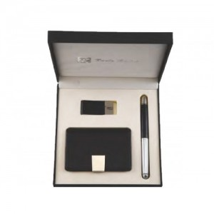 Gift set GS-20 card holder money clip metal pen