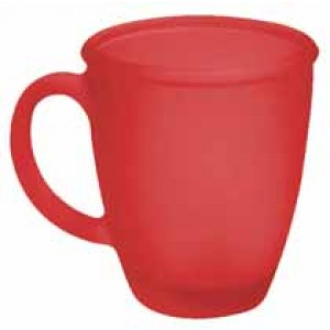 V-Shape Frosted ceramic Mug