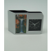 2 in one desktop clock/photo frame
